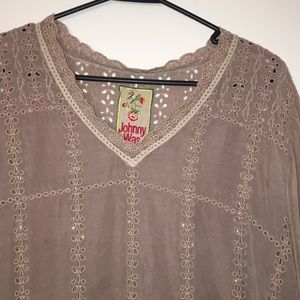 Johnny was tunic.   MAKE A OFFER